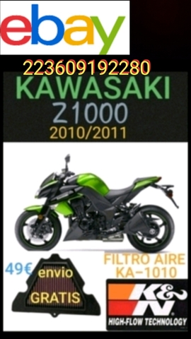 AIR FILTER FOR KAWASAKI GPZ 1100 96-97 975