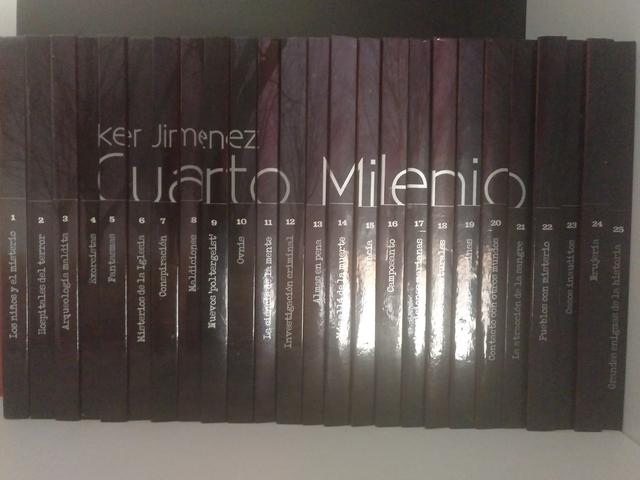 COLECCIÓN COMPLETA CUARTO MILENIO (+DVD)