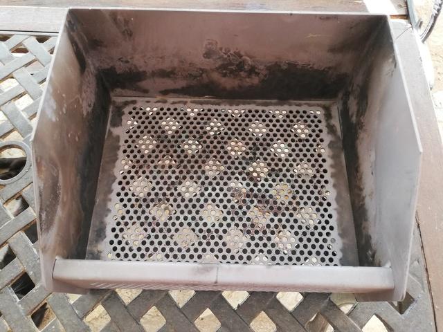 Quemador de pellets 30x25x17 cm
