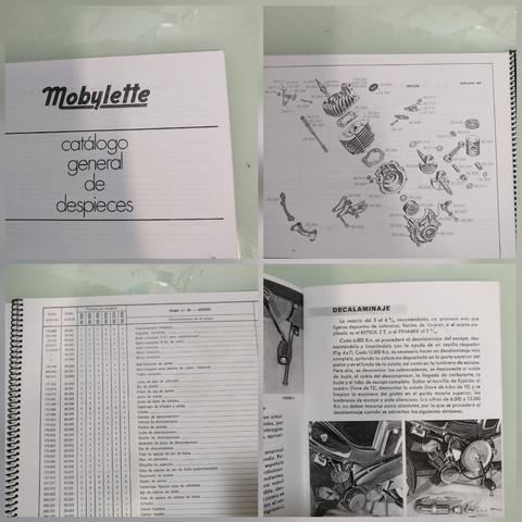MOBYLETTE, CATALOGO DE PIEZAS - foto 2