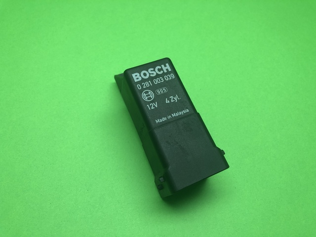 Relés recocido Bosch 0 281 003 024