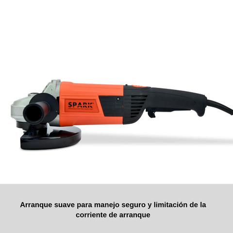 AMOLADORA ANGULAR 2400W,  DIÁMETRO DE DIS - foto 2