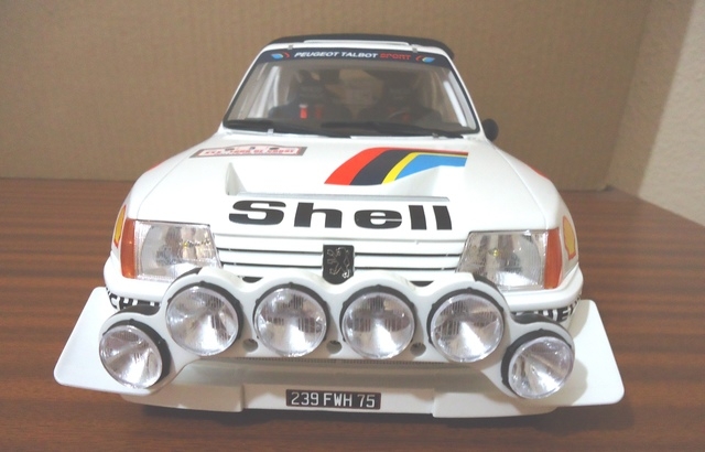 Peugeot 205 T16 Rallye Evo 2 1:12