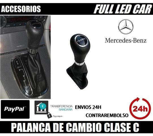 POMO PALANCA DE CAMBIO 5 VELOCIDAD MERCEDES W203 C-CLASS 00-07
