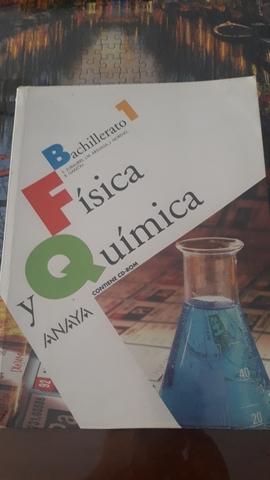 LIBRO DE FISICA Y QUIMICA 1° BACH. ANAYA segunda mano  Sevilla
