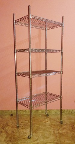 Estanterias Metalicas Cromadas.Estanteria Metalica Cromada Decoracion H