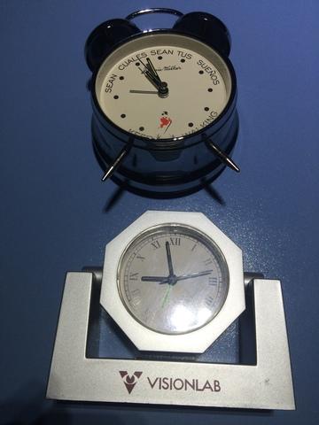 Dos Relojes Sobremesa