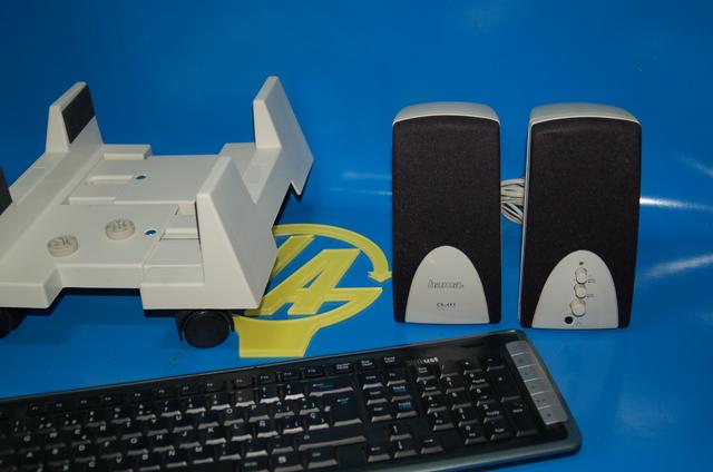 TORRE PC BASIC + ALTAVOCES + TECLADO + - foto 2