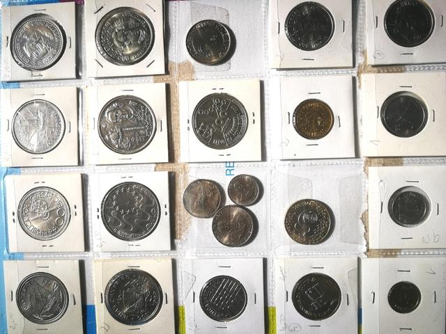 22 Monedas Conmemorativas Escudos Portug