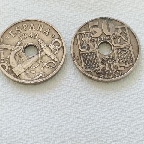Monedas Antiguas En Calpe