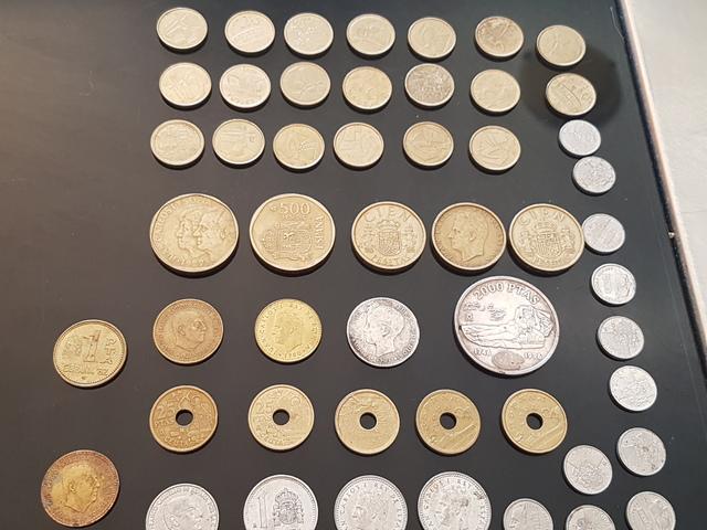 Lote De Monedas De Pesetas