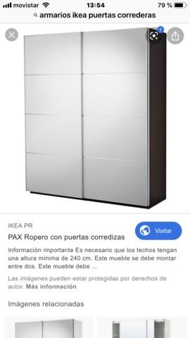 Mil Anuncioscom Armario Puertas Correderas Ikea Casa Y