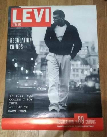 Poster Levis Nuevo 1989