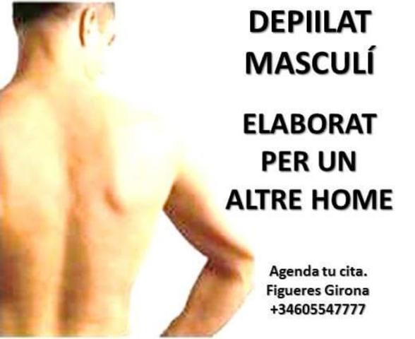 DEPILACIÓ CORPORAL MASCULINA - foto 1