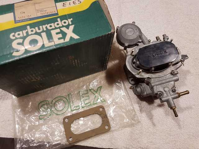 CARBURADOR SOLEX 32 SEAT 1430 124 131 - foto 1