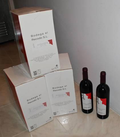 Vino Antanillas 12+12 Bodega El Recodo