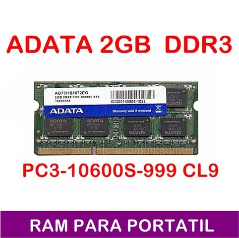 RAM PORTATIL 2GB 2RX8 PC3-10600S-999 - foto 1