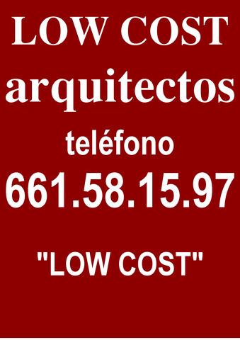 ARQUITECTOS LOW COST----TELEF.  661581597 - foto 1