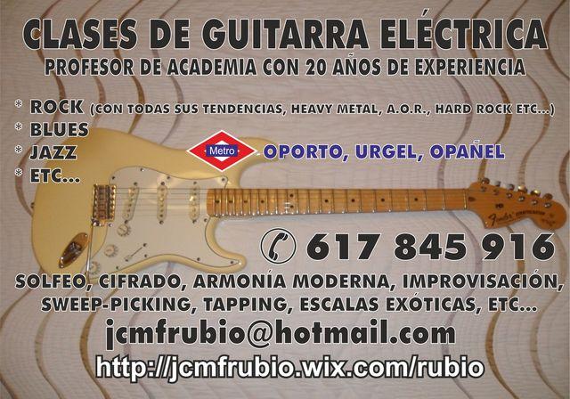 GUITARRA ELÉCTRICA EN CARABANCHEL - foto 2