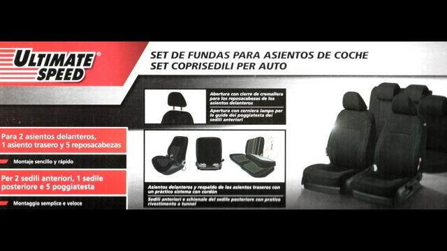 Discovery 4 10 Delantero Gris Par De servicio pesado juego de Cubierta de asiento de coche
