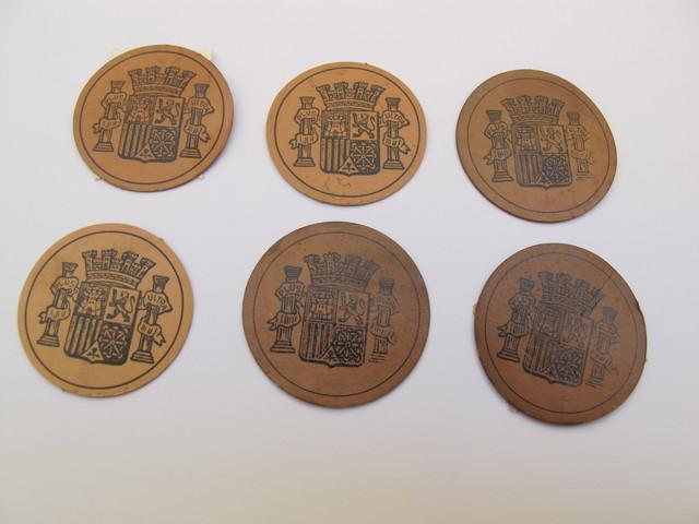 6  Sello Monedas De La República