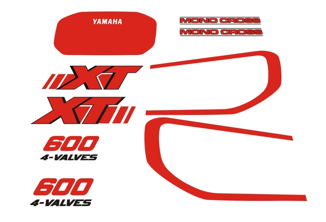 YAMAHA - XT 600 - foto 1