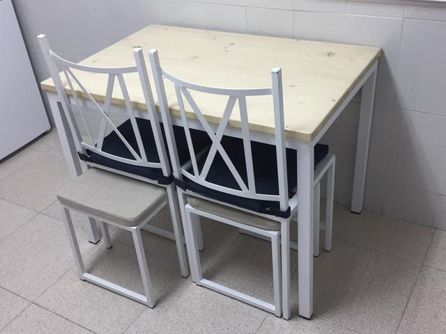 MIL ANUNCIOS.COM - Bonita y moderna mesa cocina + sillas