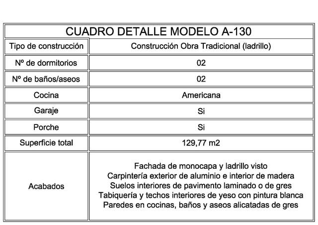 CHALET DE OBRA 129, 77M2 DESDE 74950 - foto 4