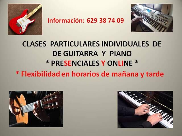 CURSO DE GUITARRA  Y PIANO ONLINE - foto 1