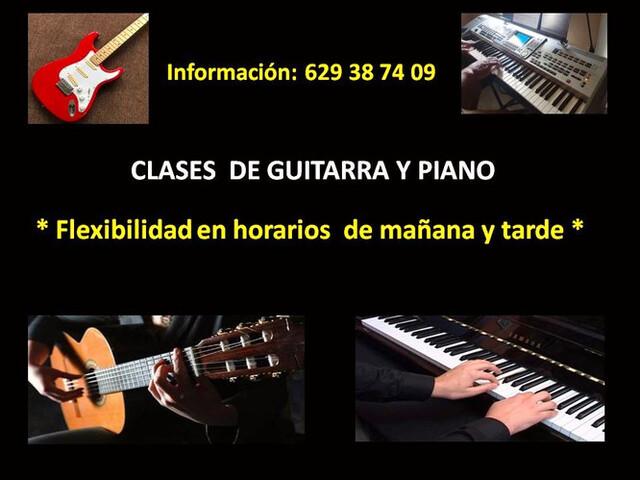 CLASES DE GUITARRA Y PIANO  ONLINE - foto 1
