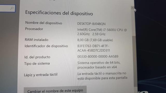 LENOVO CARBON X1-I7-8 RAM-256 SSD M. 2 - foto 6