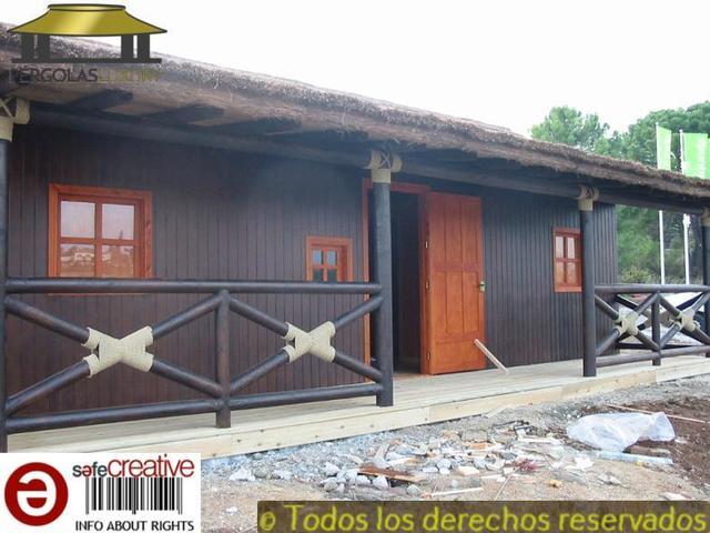 PERGOLAS DE JUNCO BREZO CASA REF 82 - foto 1