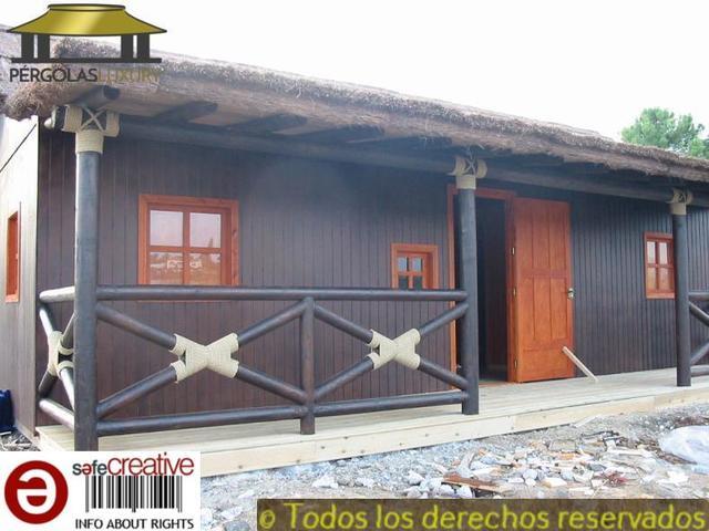 PERGOLAS DE JUNCO BREZO CASA REF 82 - foto 2