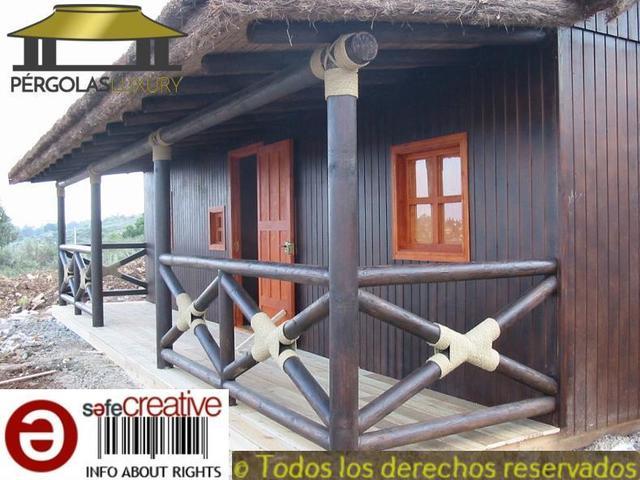 PERGOLAS DE JUNCO BREZO CASA REF 82 - foto 3