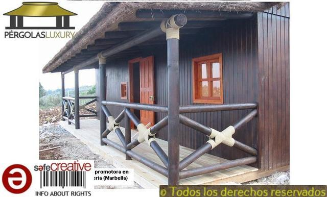 PERGOLAS DE JUNCO BREZO CASA REF 82 - foto 4