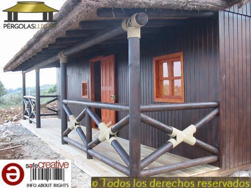 PERGOLAS DE JUNCO BREZO CASA REF 82 - foto 5