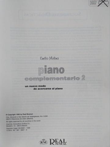 MODO ACERCARSE AL PIANO COMPLEMENTARIO 2 - foto 2