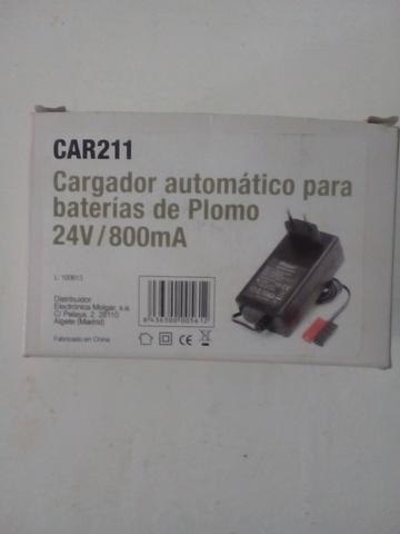 Cargador De Baterias De Plomo