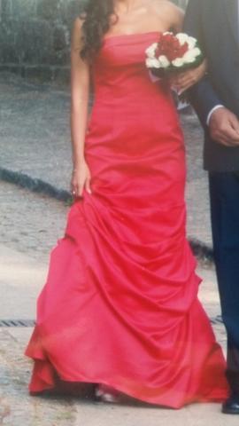 Vestido Rojo Para Boda O Ceremonia