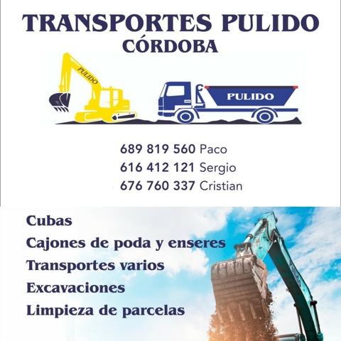 CONTENEDORES Y EXCAVACIONES PULIDO - foto 1
