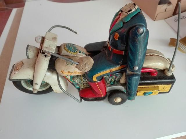 Motorista Juguete Antiguo