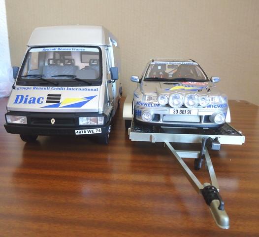 Set Rally Clio Montecarlo 1:18
