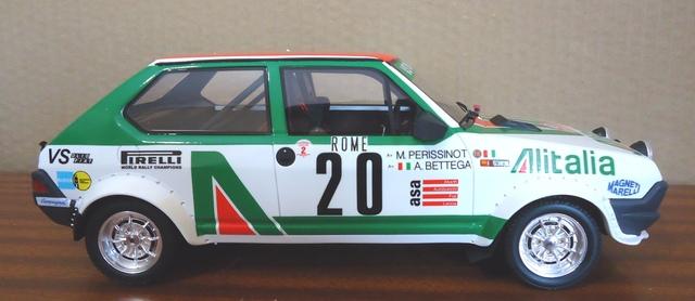 Fiat Ritmo Abarth Rally 1:18