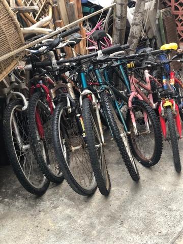 Bicicletas De Niños Y Adultos