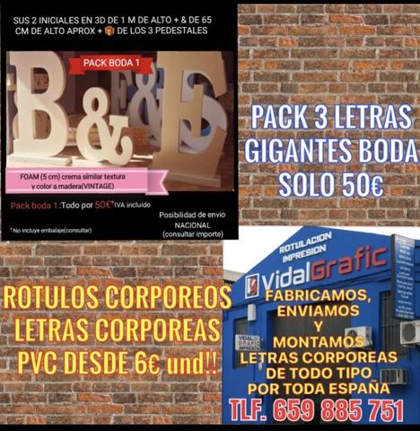 RÓTULOS, CORPOREOS, LETRAS PVC DESDE 4 EUR - foto 7