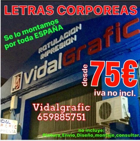 RÓTULOS, CORPOREOS, LETRAS PVC DESDE 4 EUR - foto 3