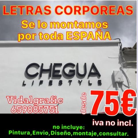 RÓTULOS, CORPOREOS, LETRAS PVC DESDE 4 EUR - foto 6
