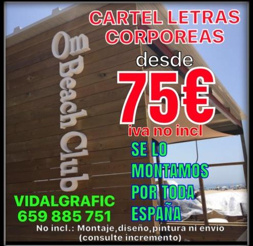 RÓTULOS, CORPOREOS, LETRAS PVC DESDE 4 EUR - foto 2
