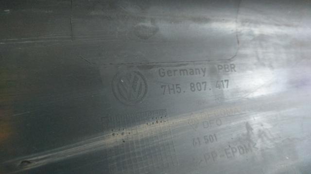 7H5807417 PARAGOLPES TR VW TRANSPORTER - foto 1