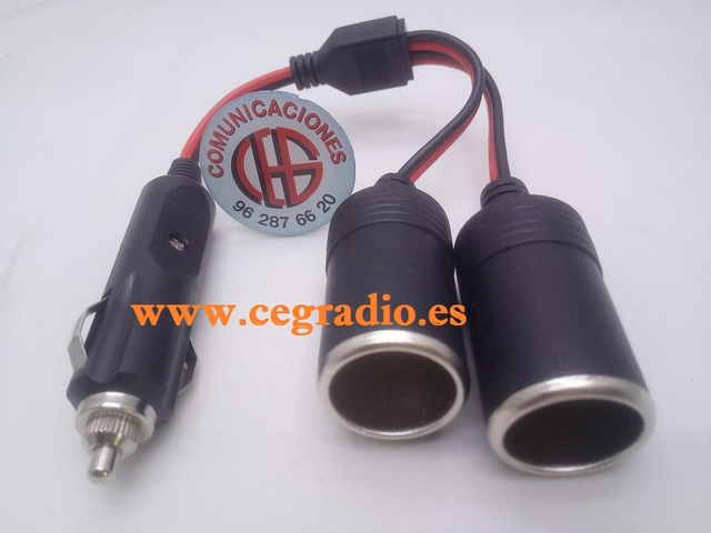 12V 120W coche barco tractor encendedor metal Power socket enchufe Sp